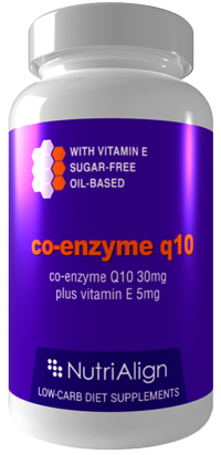 Co-Enzyme Q10 - Low Carb Diet Supplement
