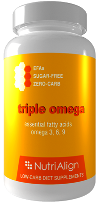 Omega Oils Low Carb Diet Supplement