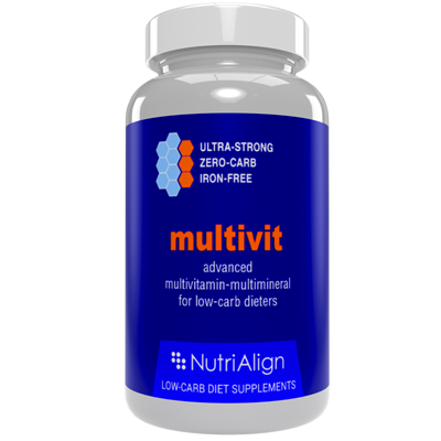 Low carb diet multivitamins