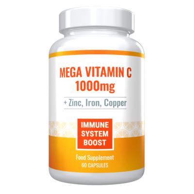 Vitamin C Zinc Iron Copper Supplement
